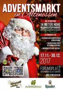 Altenessener Adventsmarkt @ Forumsplatz (vor dem Allee-Center)
