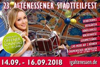 23. Altenessener Stadtteilfest