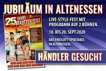 25. Jahre Stadtteilfest • Händler gesucht